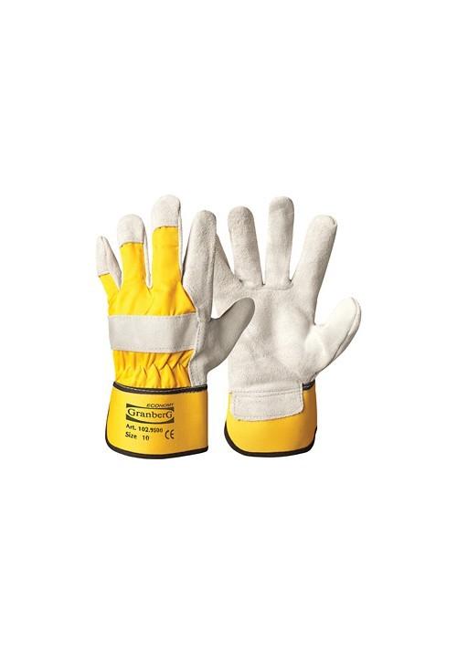 Rękawice wzmacniane skórą dwoinową Granberg Economy 102.9500