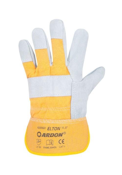 Rękawice wzmacniane skórą dwoinową ELTON