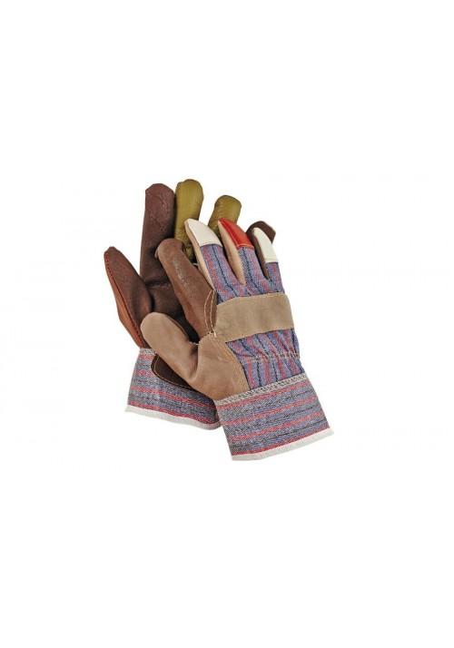 Rękawice wzmacniane skórą Grouse